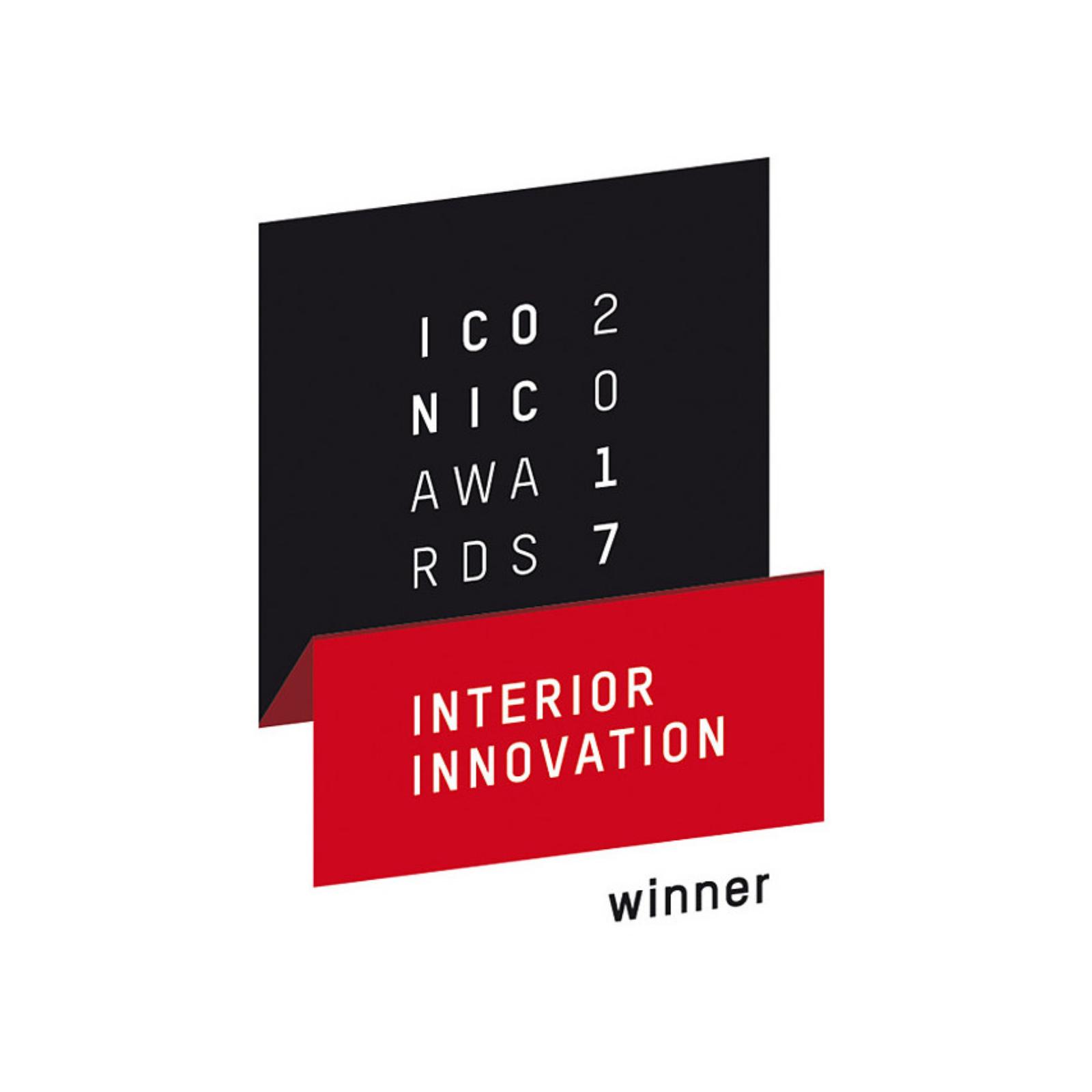 Iconic Awards 2017 - Interior Innovation Winner