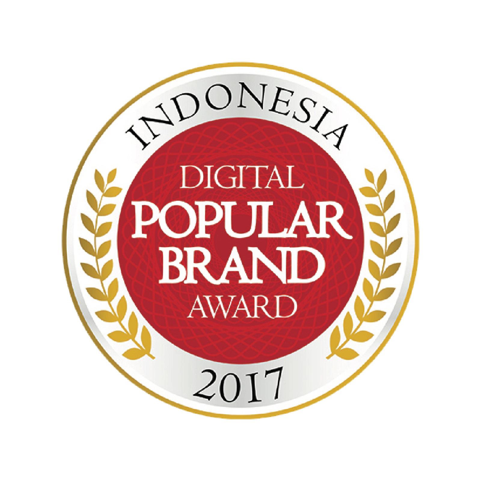Indonesia Digital Popular Brand Award 2017