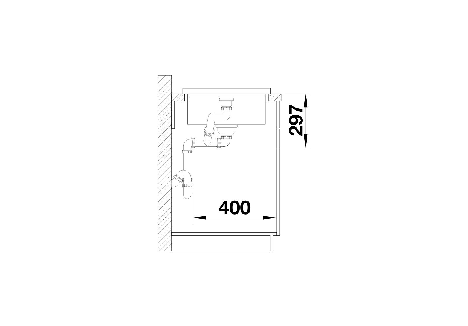 BLANCO Adon XL 6 S - Side View