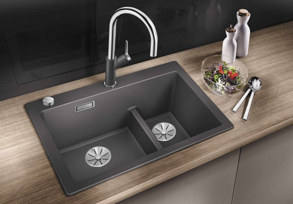 How to choose kitchen sink - BLANCO Pleon 6 Split