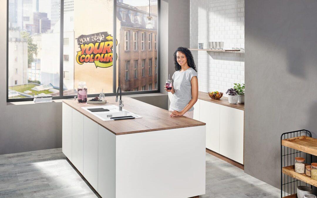 BLANCO Sity dan BLANCO Viu – Tambahkan Warna Ke Dapur Anda