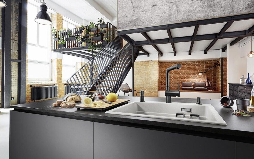 Percantik Dapur Anda dengan Desain Kitchen Sink Terbaik BLANCO Silgranit®
