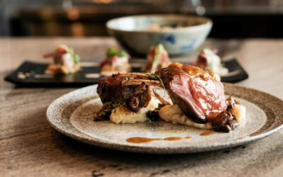 Cooking With BLANCO Bersama Sale: Crusted Porcini Lamb Rack