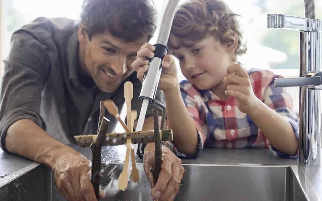 Ide Kencan Ayah dan Anak di Dapur